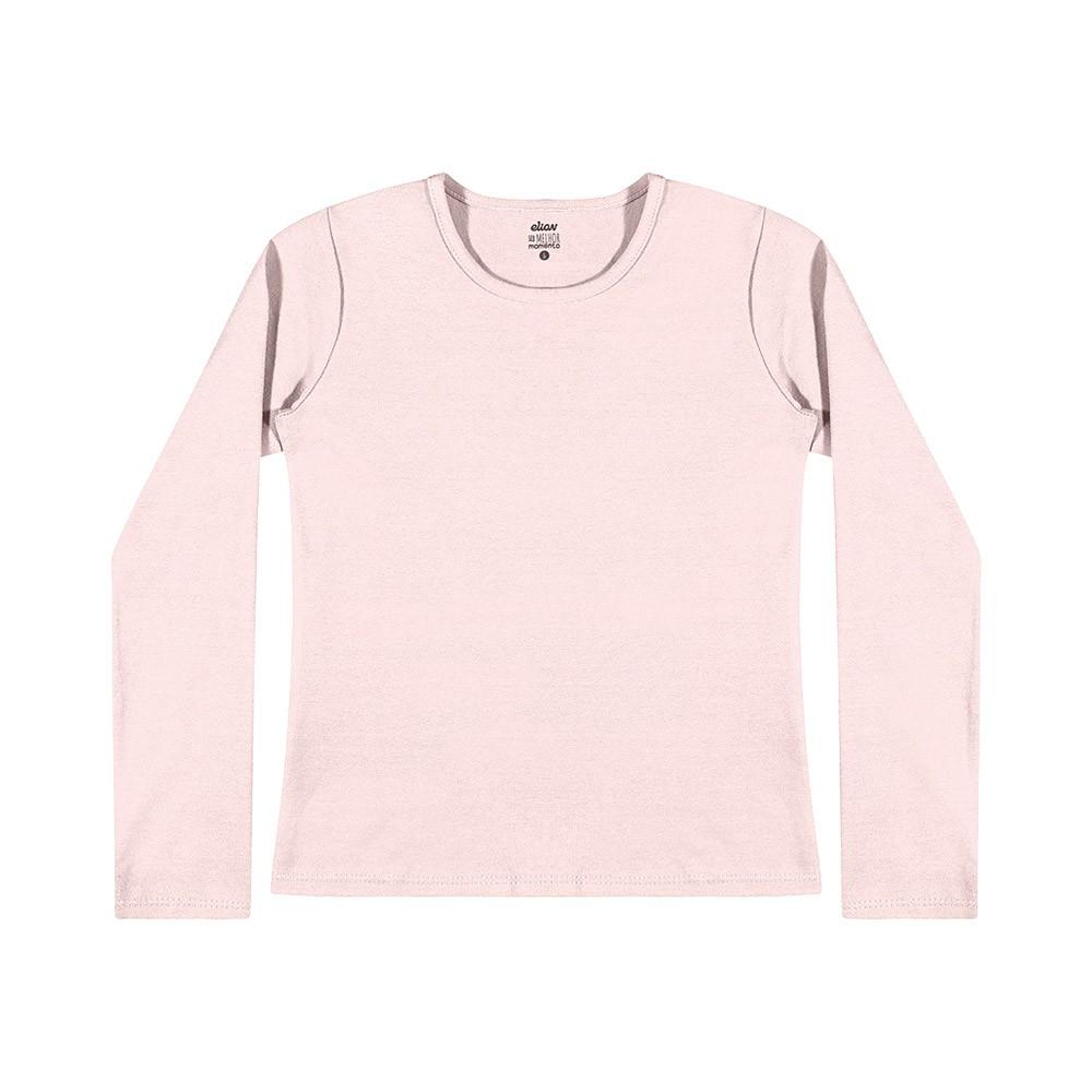 Blusa em Cotton Rosa Claro