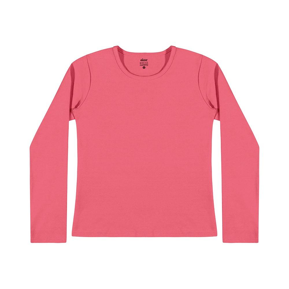 Blusa em Cotton Rosa Médio