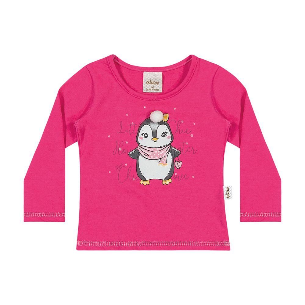 Blusa Pinguim Pink