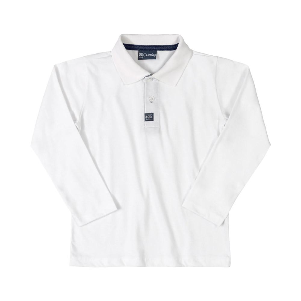 Blusa Pólo Quimby Branca