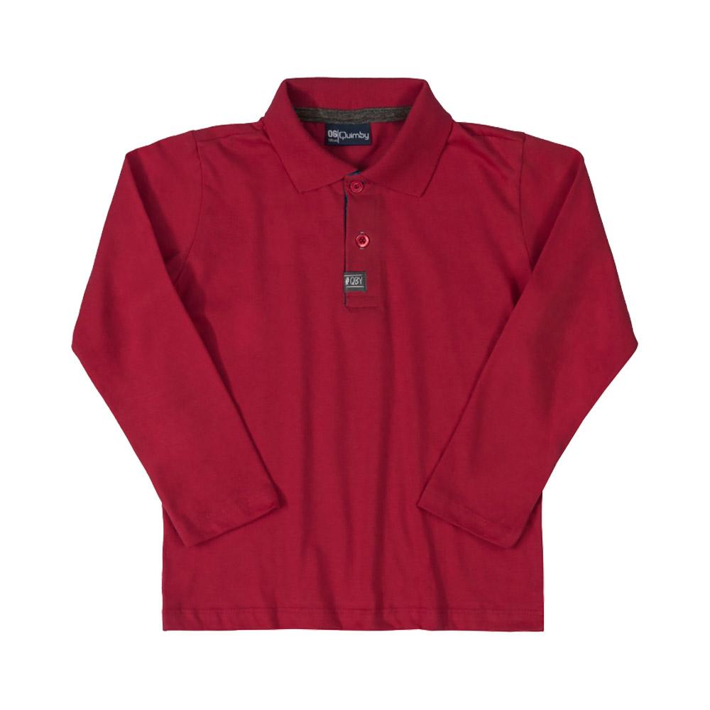 Blusa Pólo Quimby Vermelha