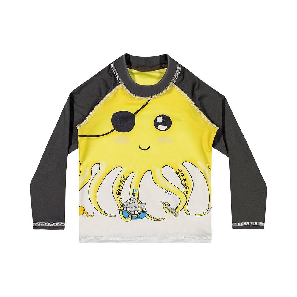 Blusa Proteção Polvo Amarelo Elian