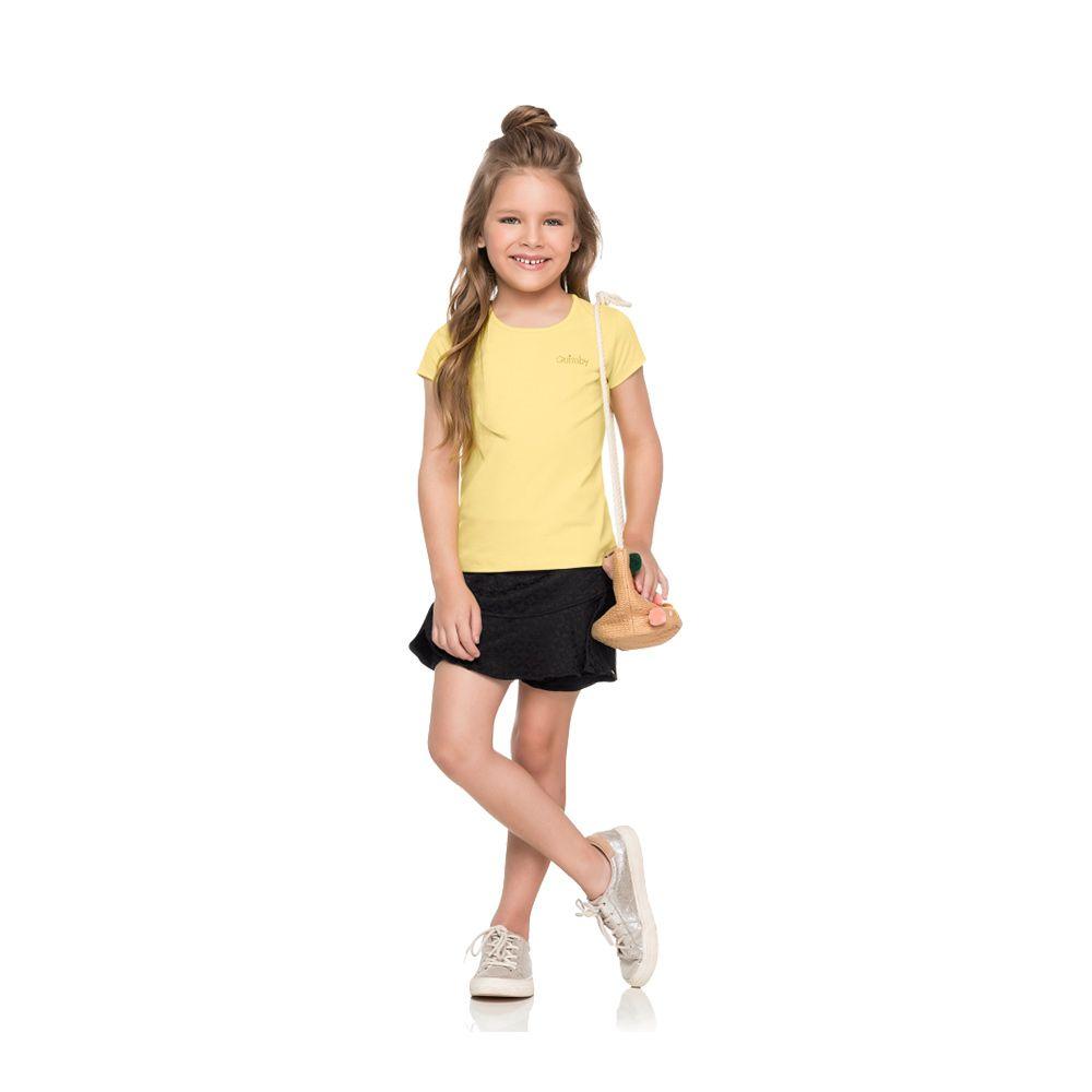 Blusa Quimby Cotton Amarela