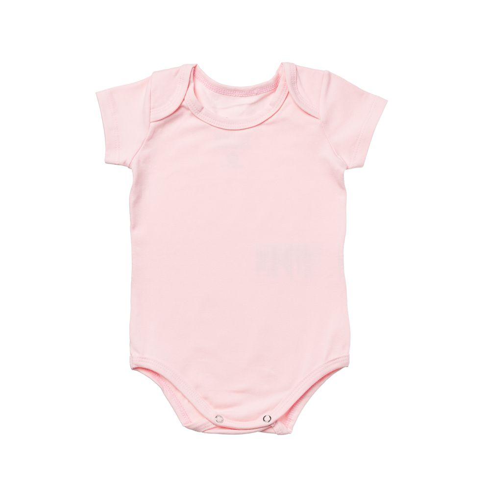 Body Cotton Confort Rosa