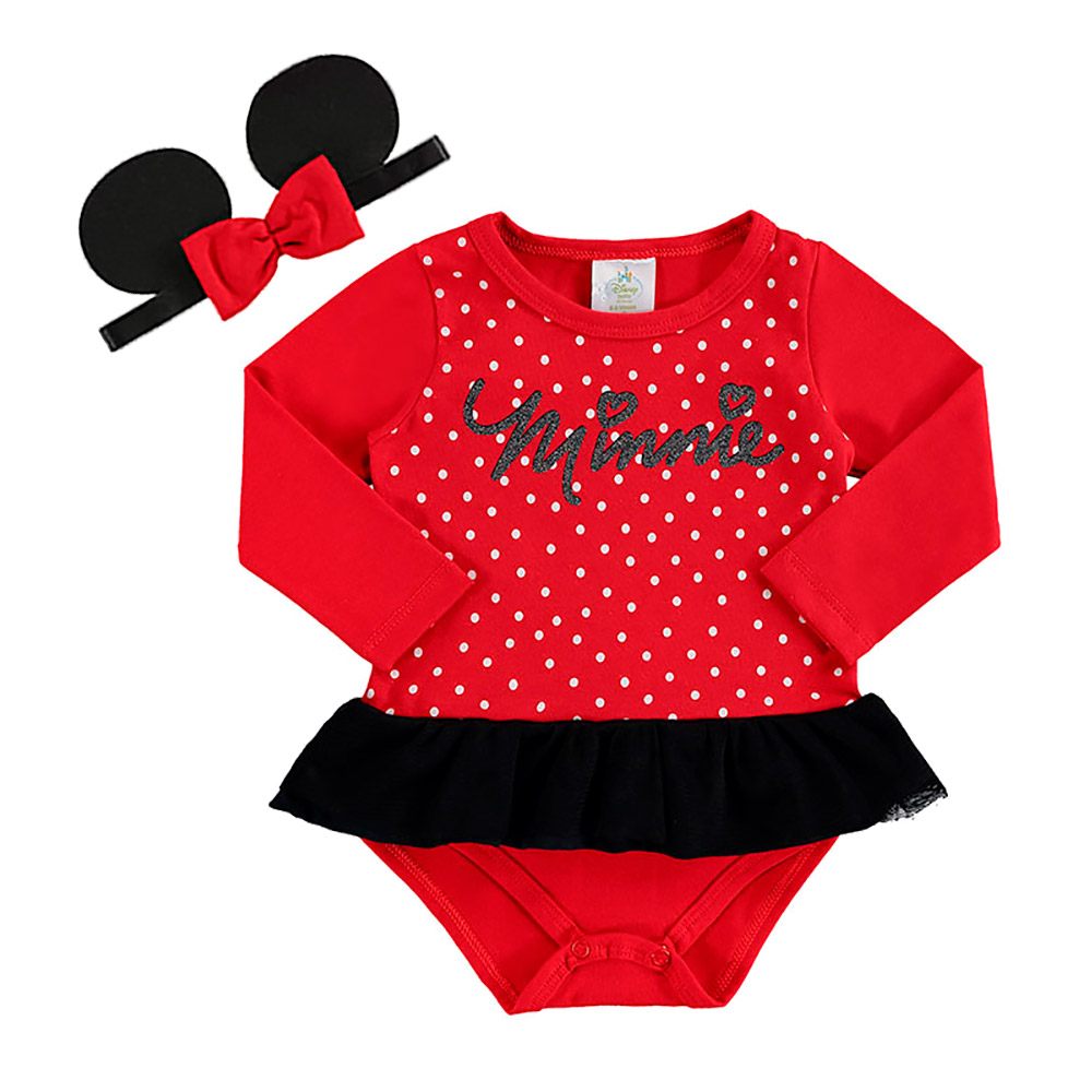 Body Minnie com  Faixinha - Oficial Disney