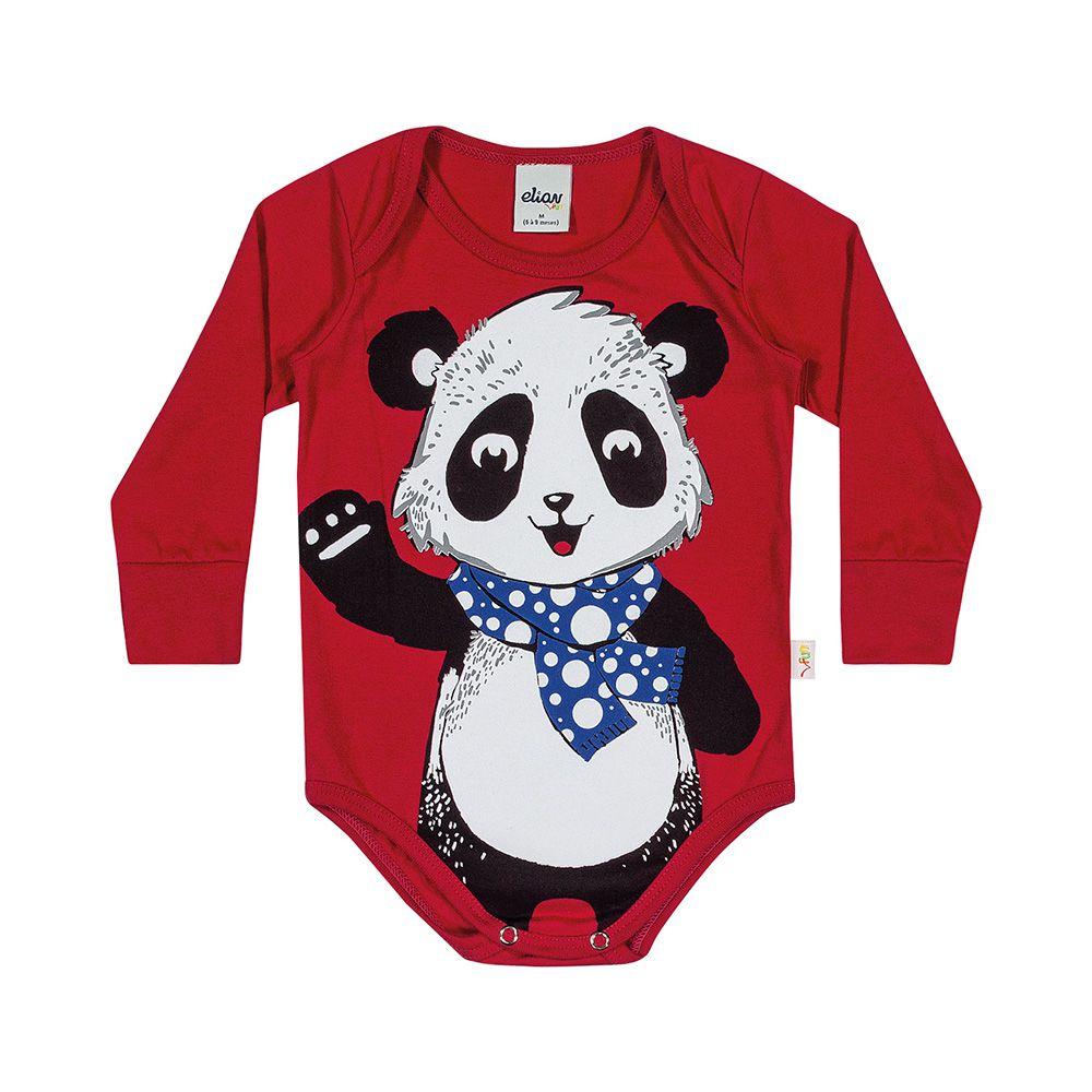 Body Panda Manga Longa
