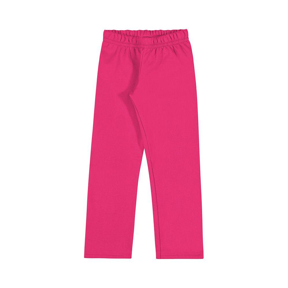 Calça de Moletom Pink