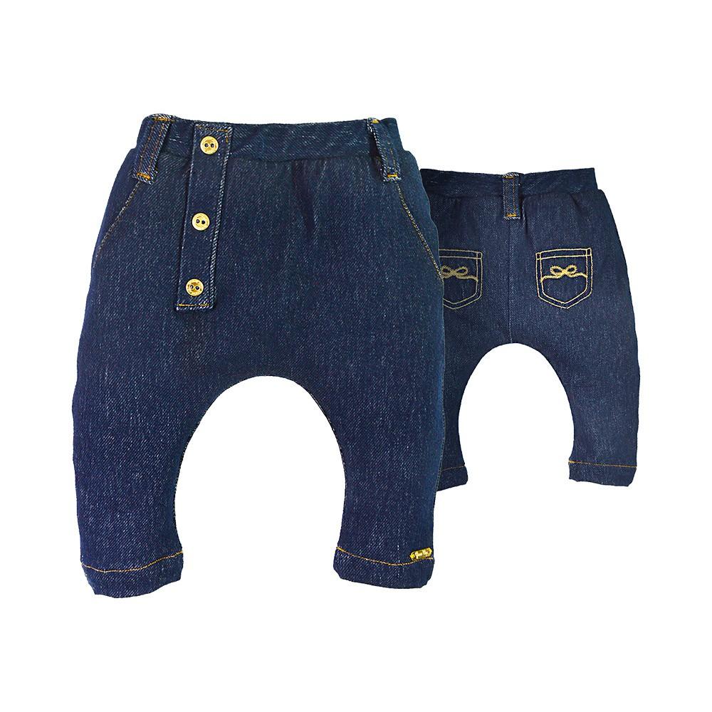 Calça em Cotton Jeans Baby Girl
