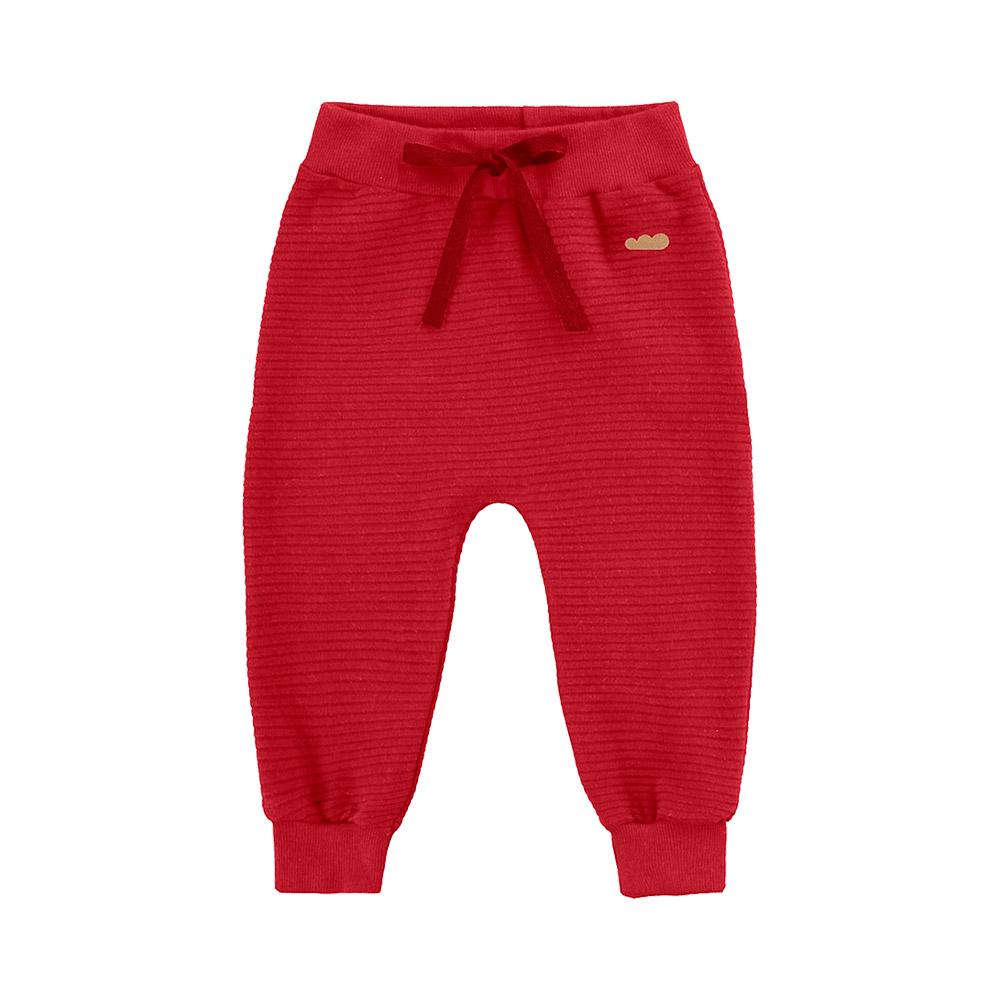 Calça em Gorgurinho Marlan Vermelha