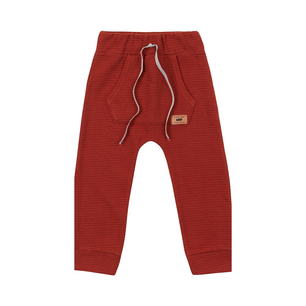 Calça em Gorgurinho Vermelha Marlan