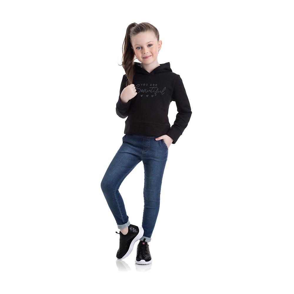 Calça em Jeans Confort Escuro TMX
