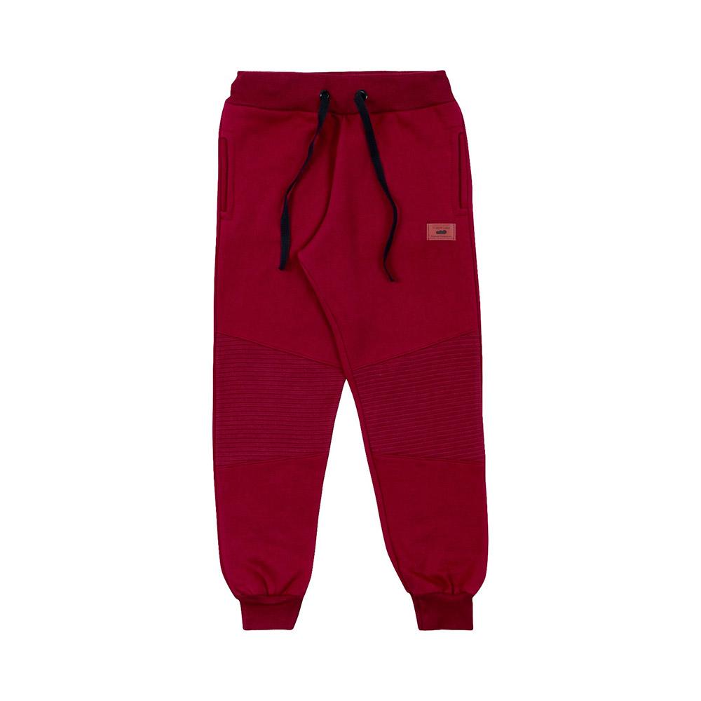 Calça em Moletom Gorgurinho Vermelha Marlan