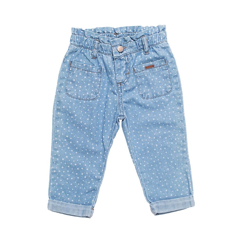 Calça Jeans Baby Estampada