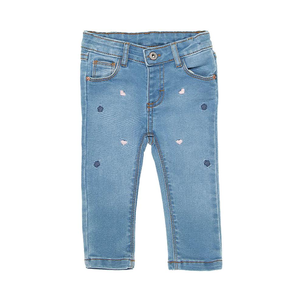 Calça Jeans Corações Baby Mania Kids