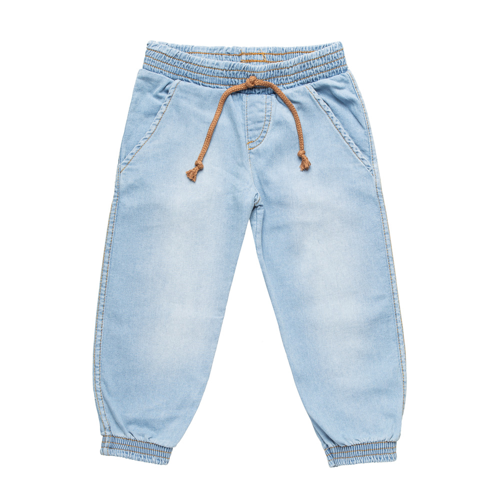 Calça Jogger Jeans Claro