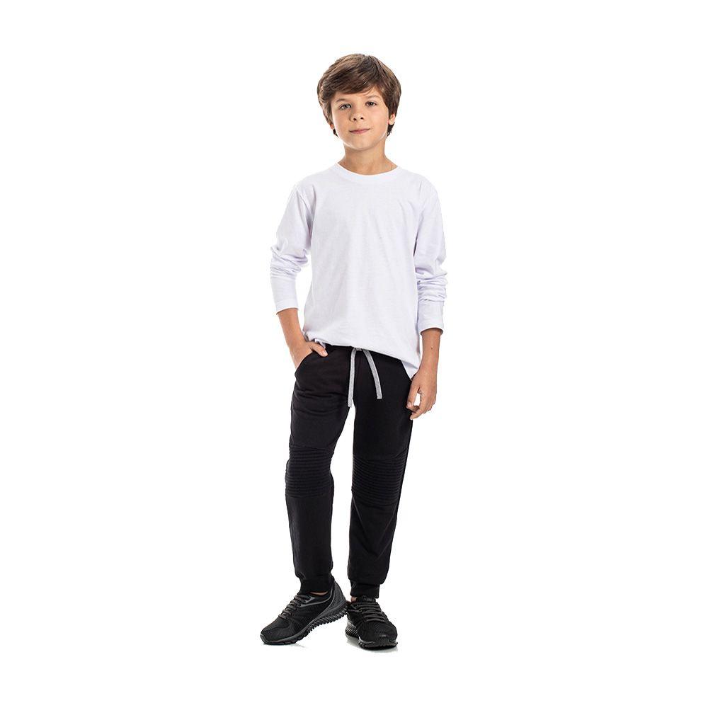 Calça Jogger Preta Teen