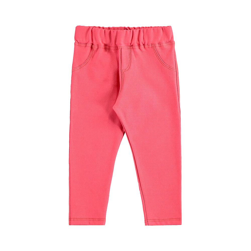 Calça Legging em Molecotton Jeans Rosa Médio