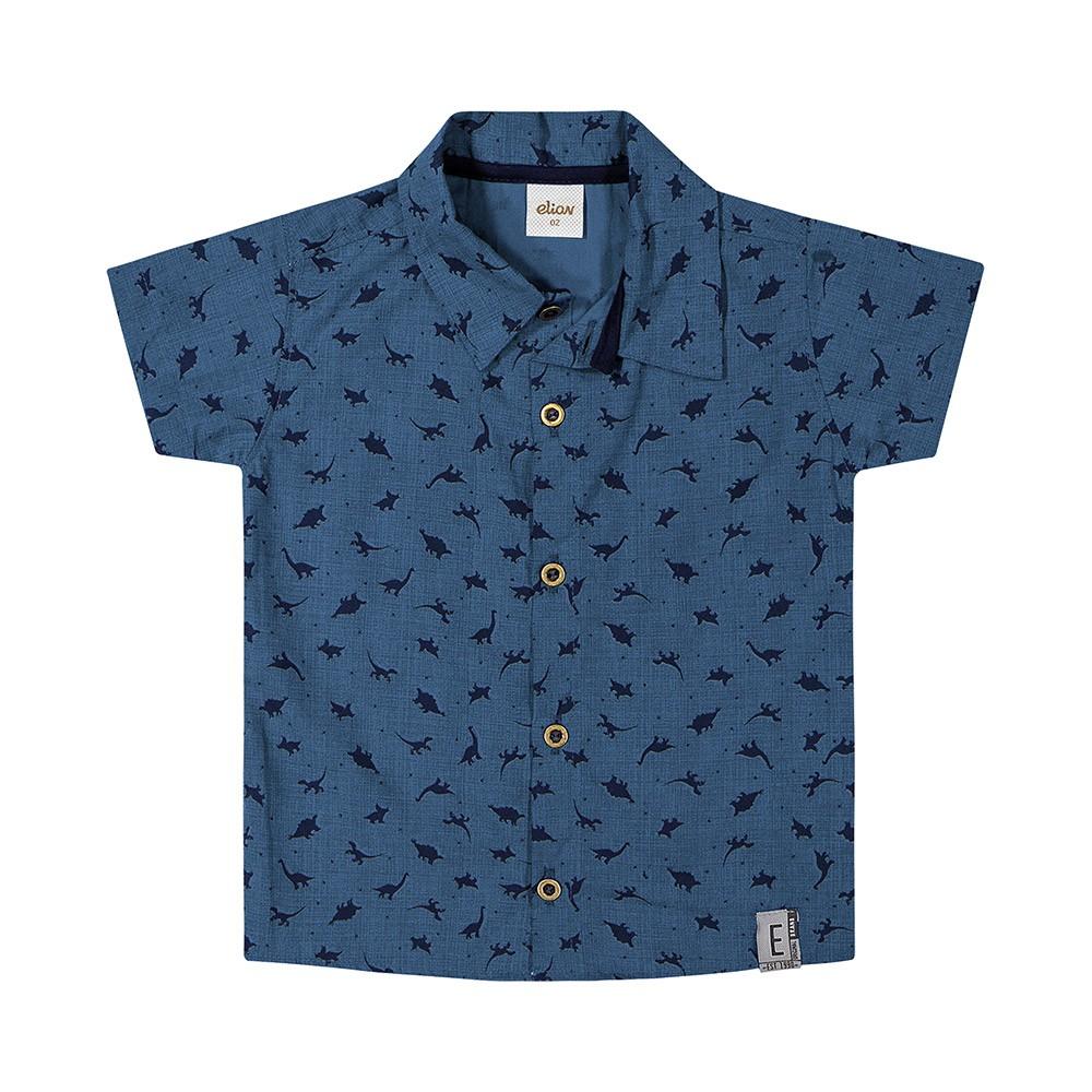 Camisa Dino Azul