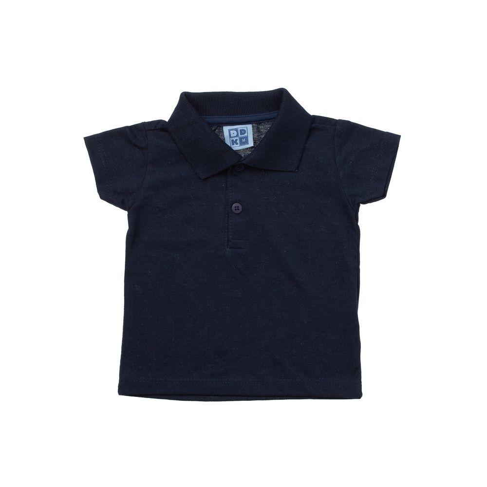 25f5f6c3801d3 Camisa Pólo manga Curta Azul - Infantilitá