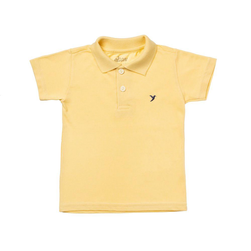 Camisa Pólo Piquet Amarela