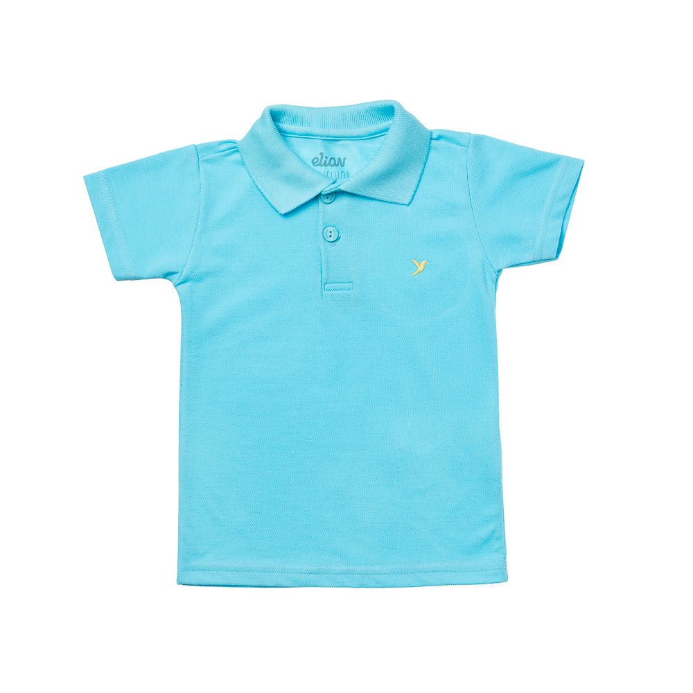 4d8dbc2134458 Camisa Pólo Piquet Azul Claro - Infantilitá