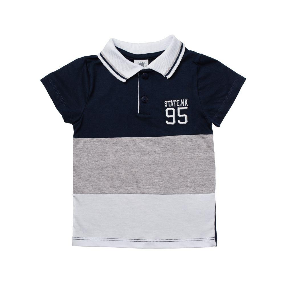 adcaeb33e3810 Camisa Pólo State NK 95 Marinho - Infantilitá