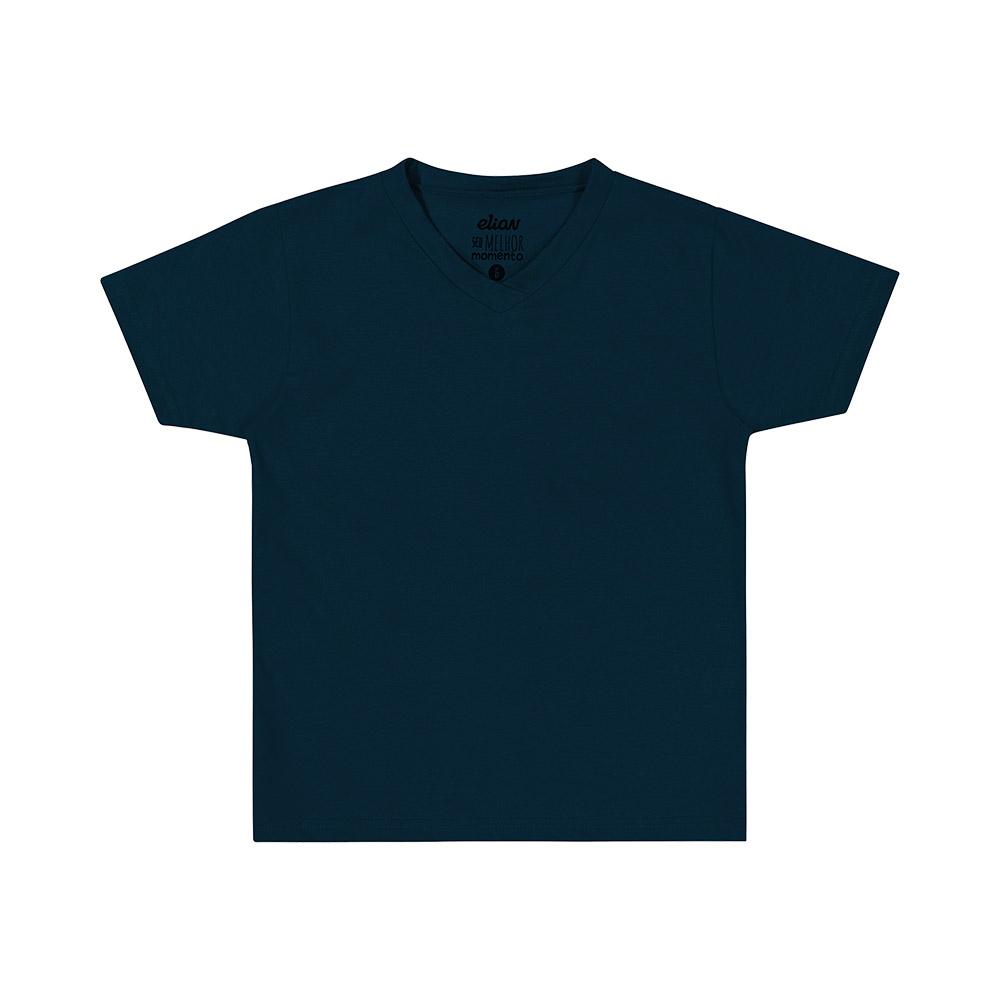 Camiseta Básica Elian Azul