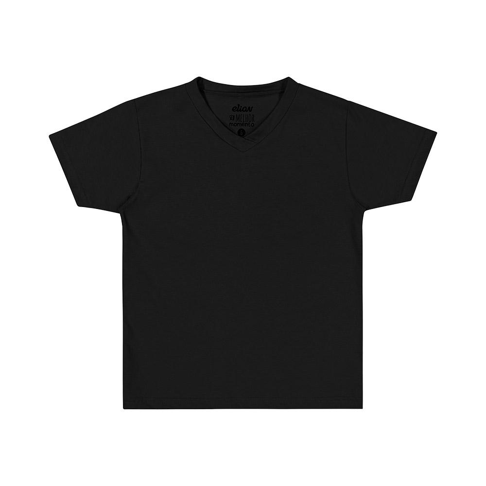 Camiseta Básica Elian Preta