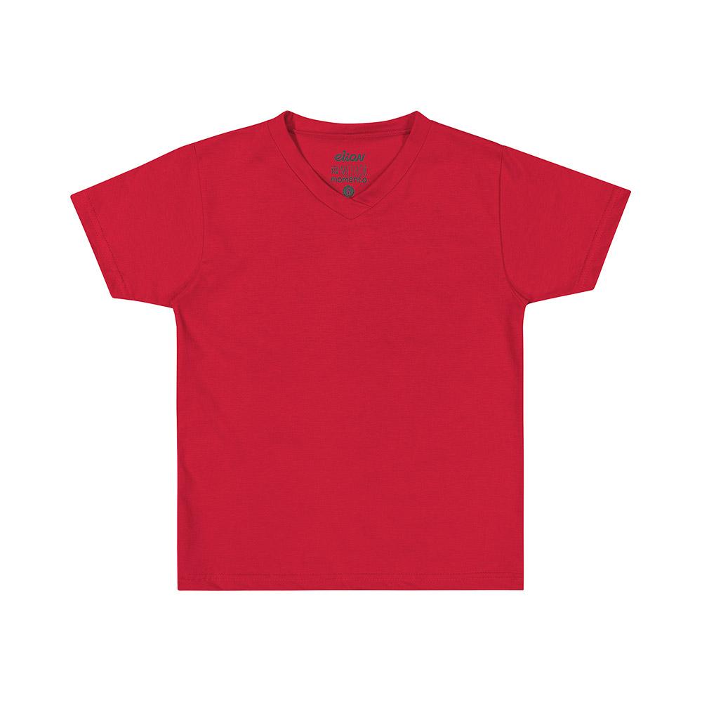 Camiseta Básica Elian Vermelha
