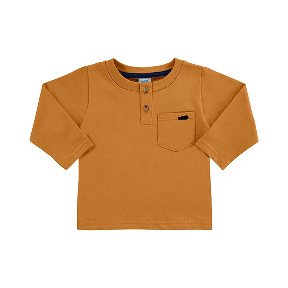Camiseta Bolsinho Caramelo