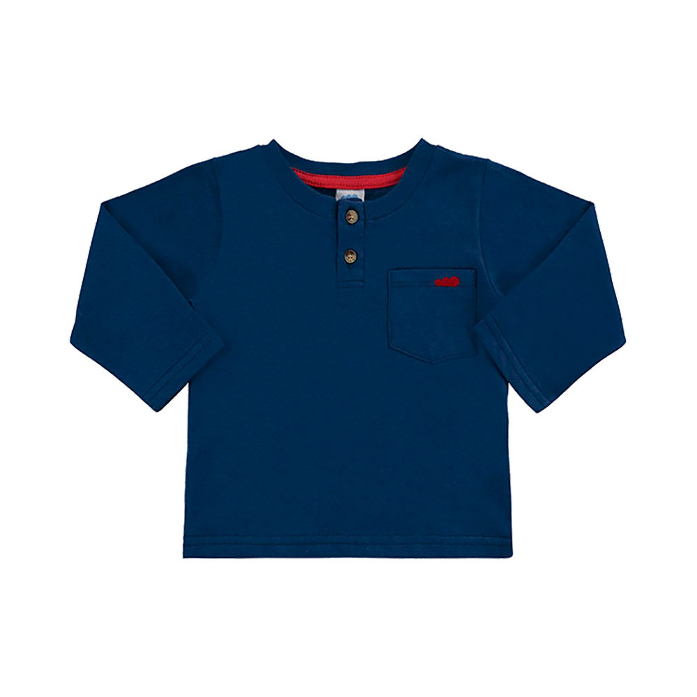 Camiseta Bolsinho Marinho