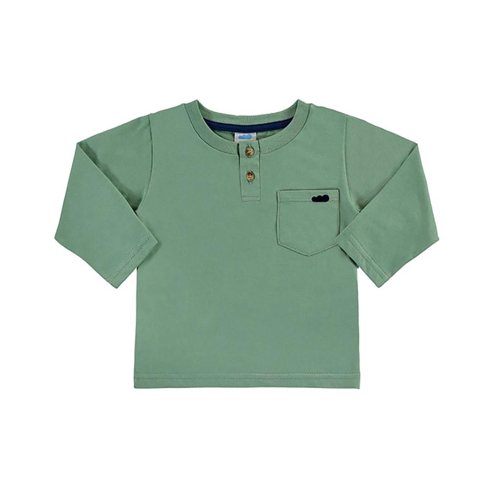 Camiseta Bolsinho Verde