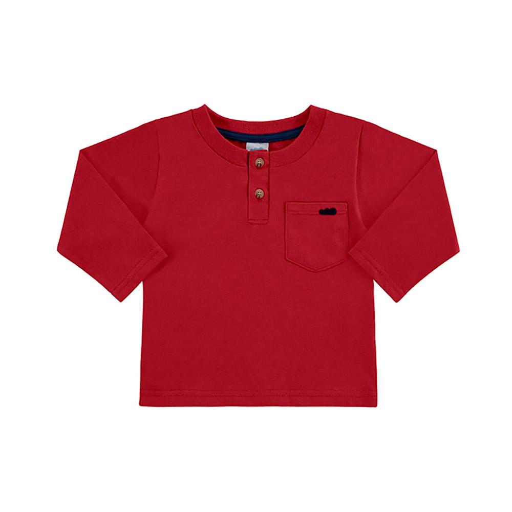 Camiseta Bolsinho Vermelha