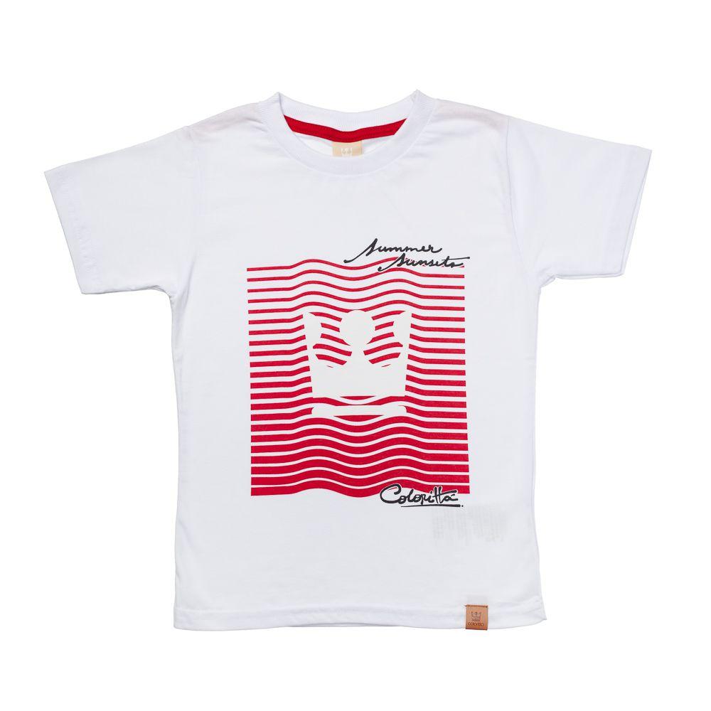 Camiseta Colorittá Muda de Cor no Sol