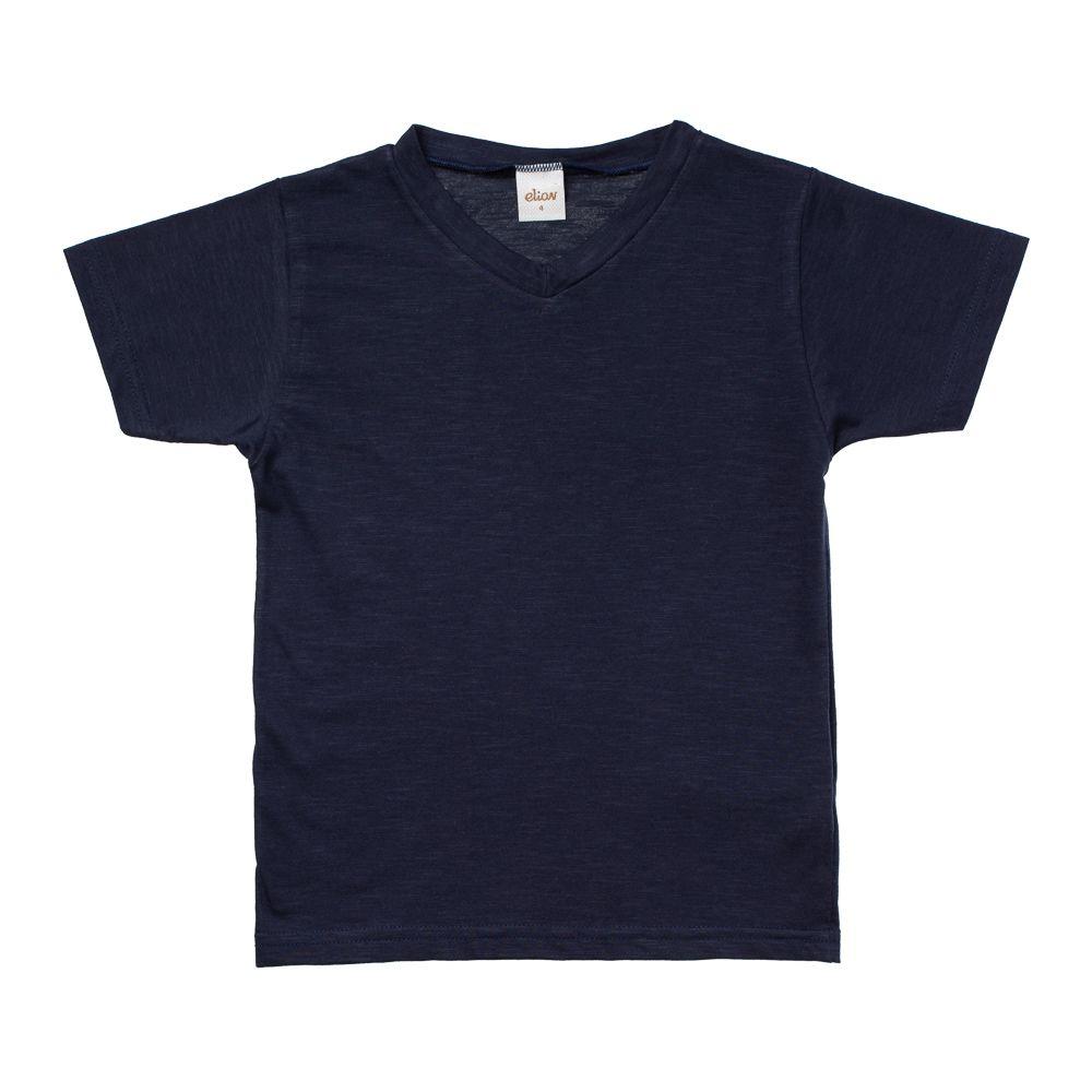 Camiseta Manga Curta Flamê Azul Marinho