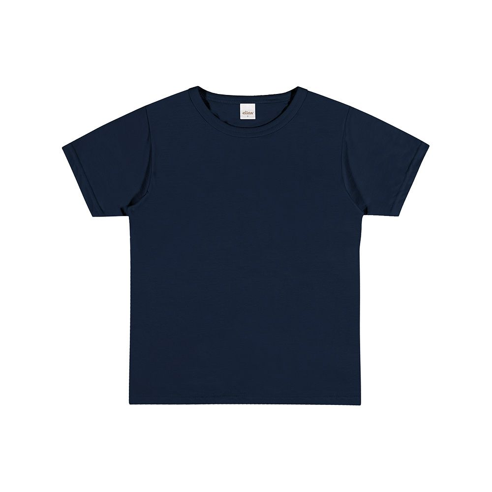 Camiseta de Manga Curta Marinho
