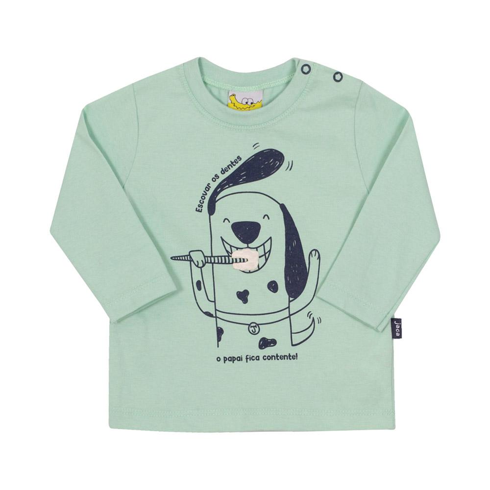 Camiseta Doguito Verde Jacalelé