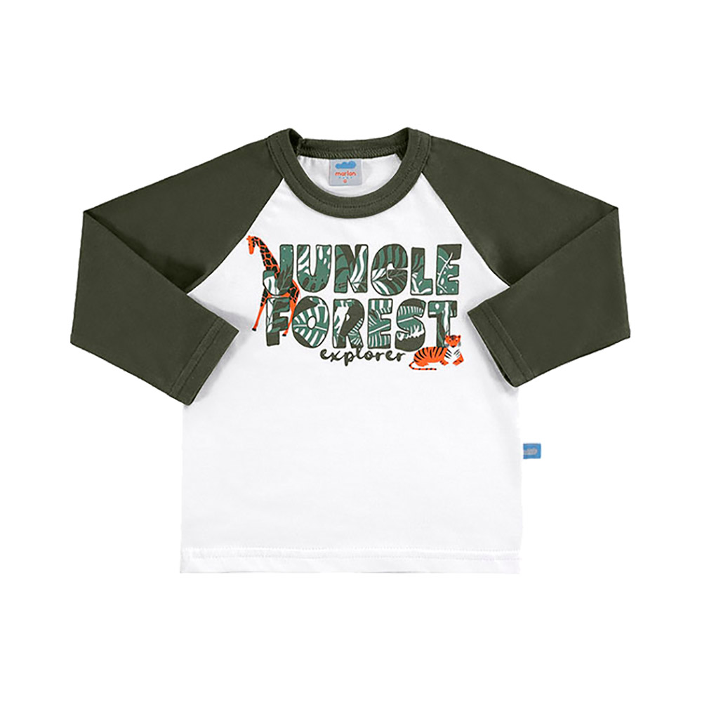 Camiseta Jungle Verde