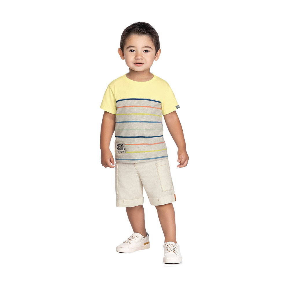Camiseta Listras Colorittá