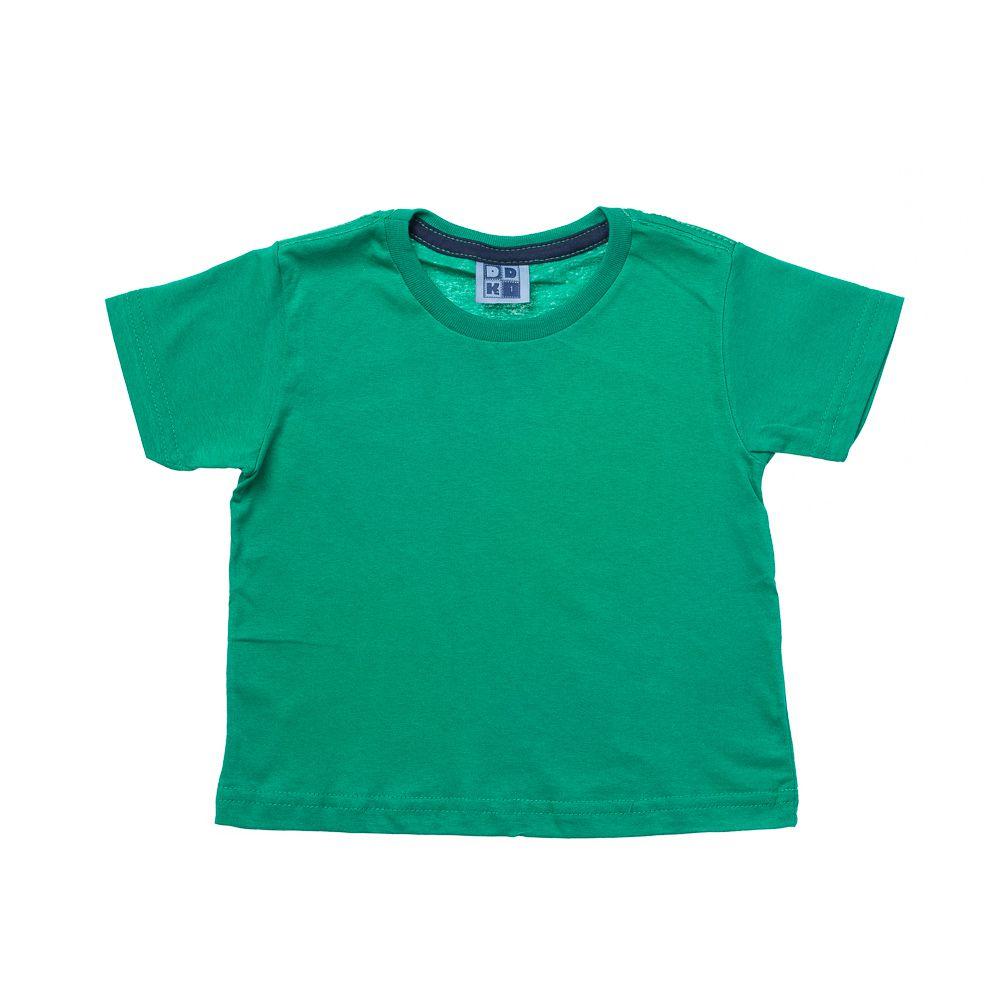 Camiseta Manga Curta Básica Verde