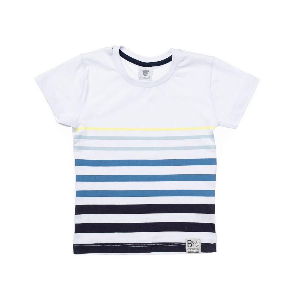 Camiseta Manga Curta Colorê  Branca