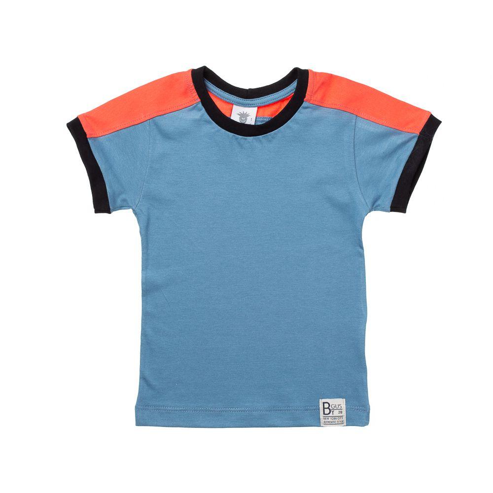 d6daf6ac4 50% OFF Camiseta Manga Curta Cores Azul