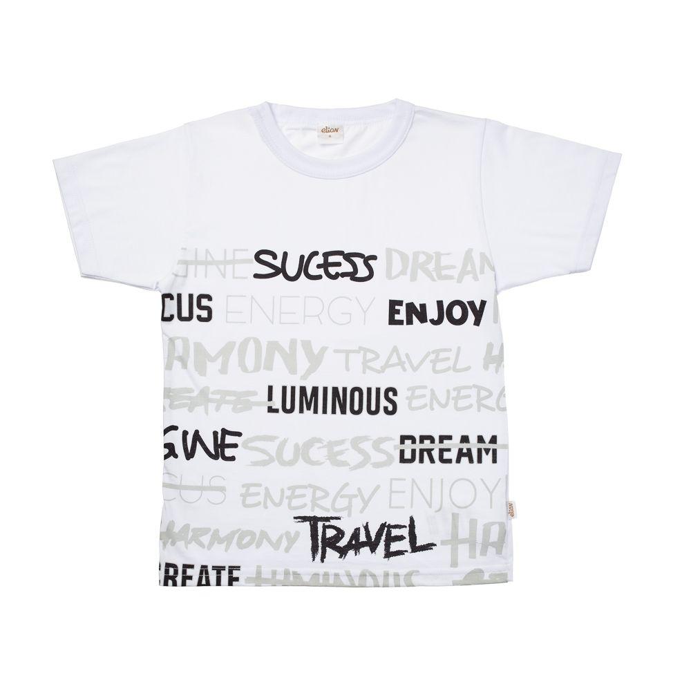 Camiseta Manga Curta Sucess Branca