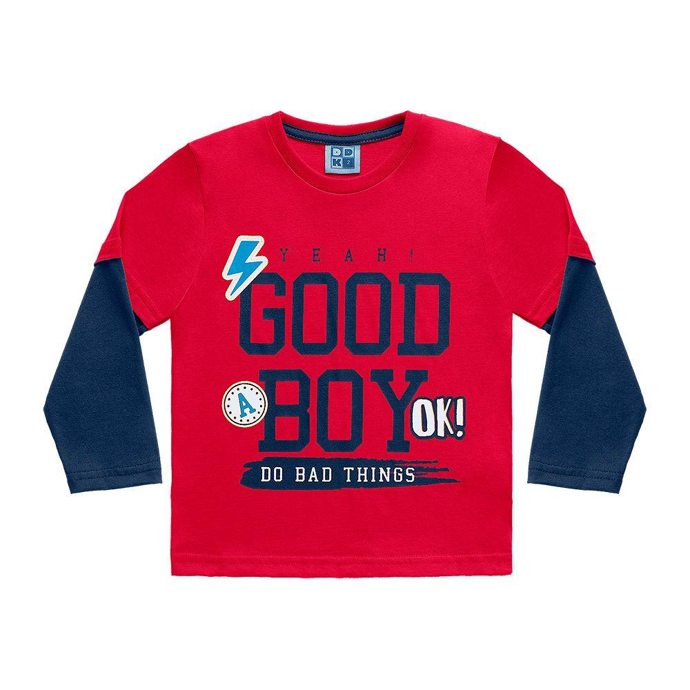 Camiseta Manga Longa Good Boy