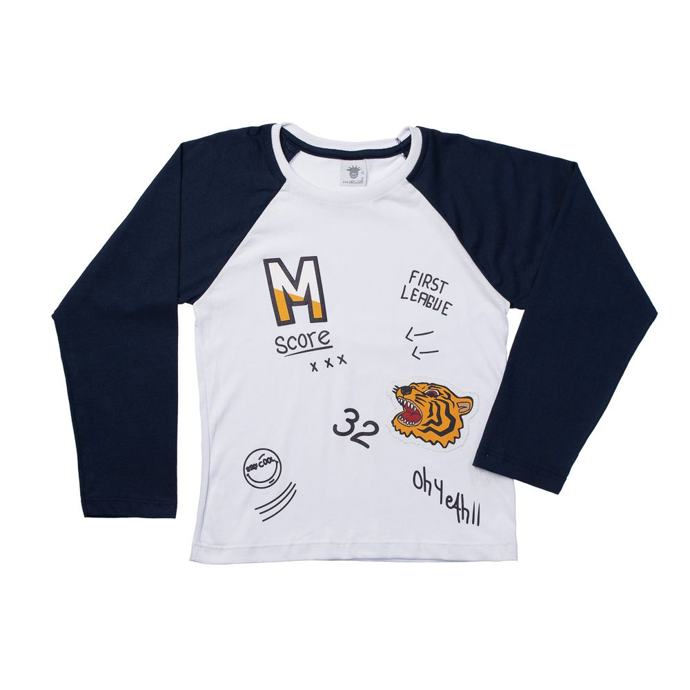 Camiseta Tigre Branca ML
