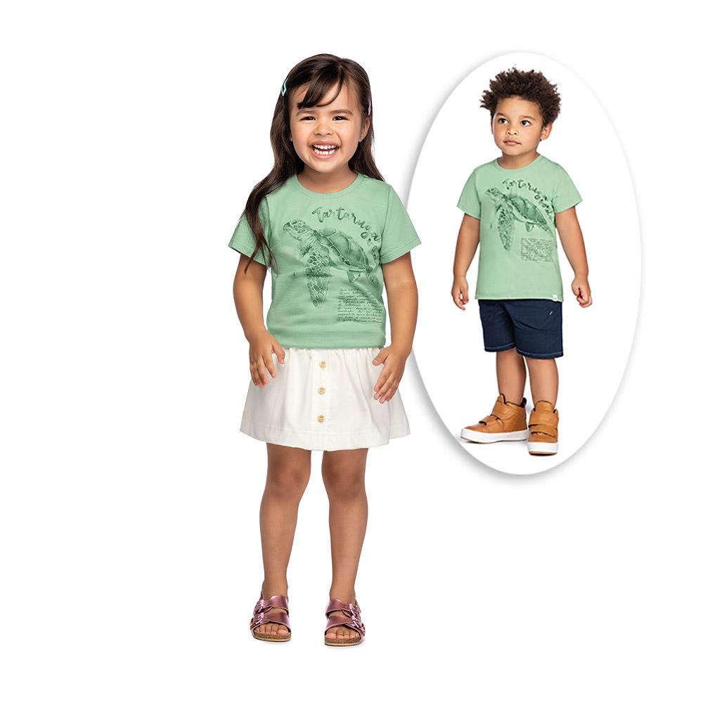 Camiseta Unissex Tartaruga Colorittá