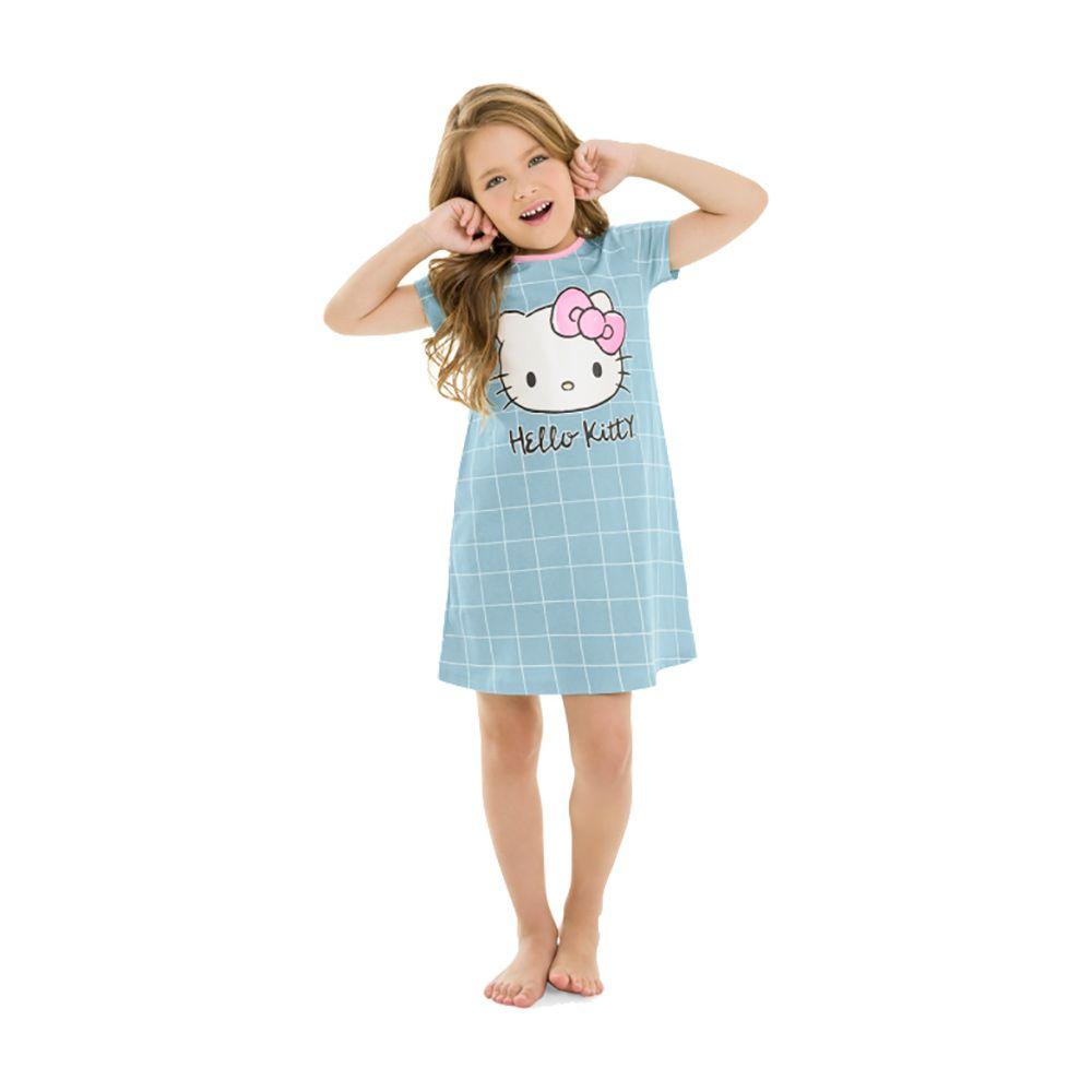 Camisola Hello Kitty Azul