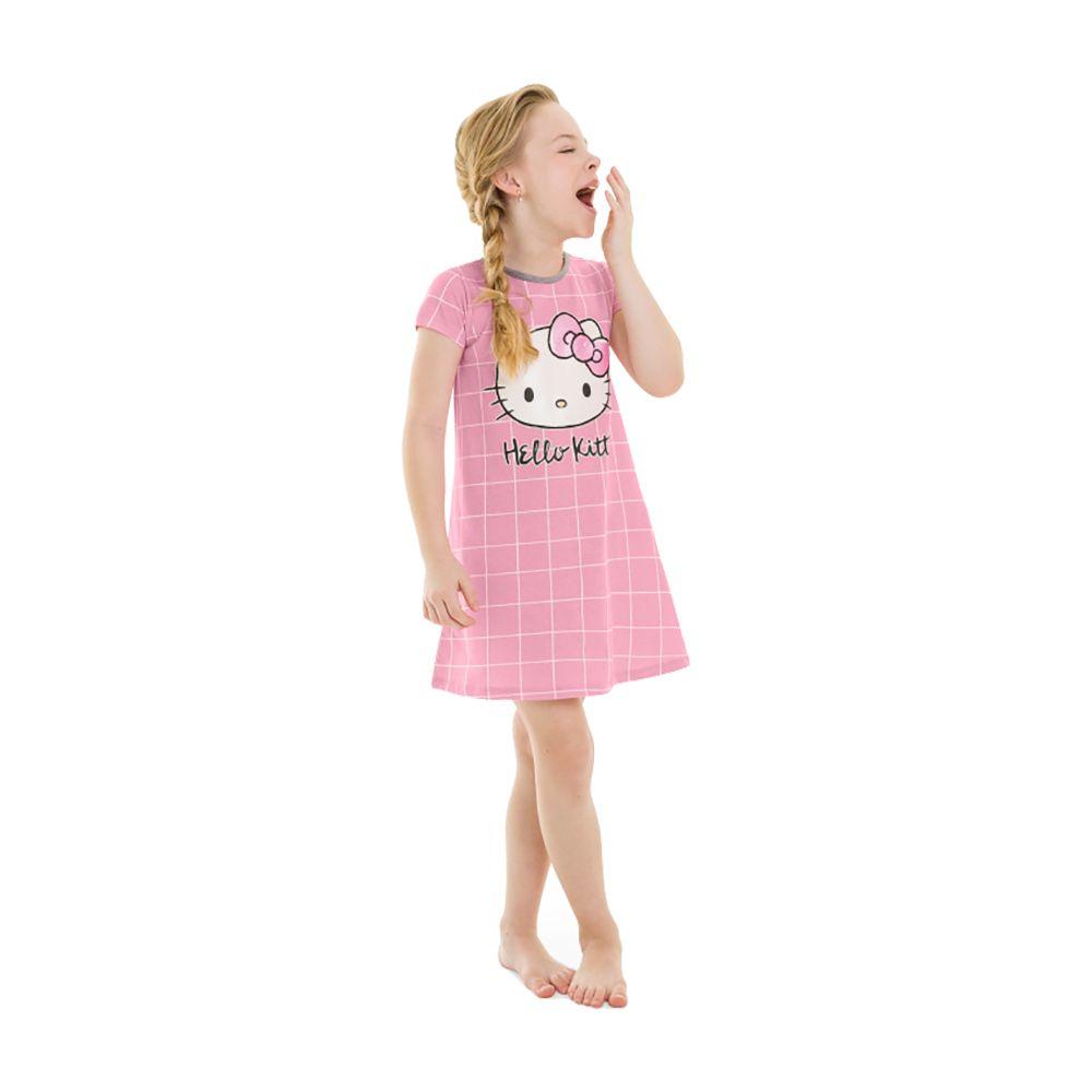Camisola Hello Kitty Rosa