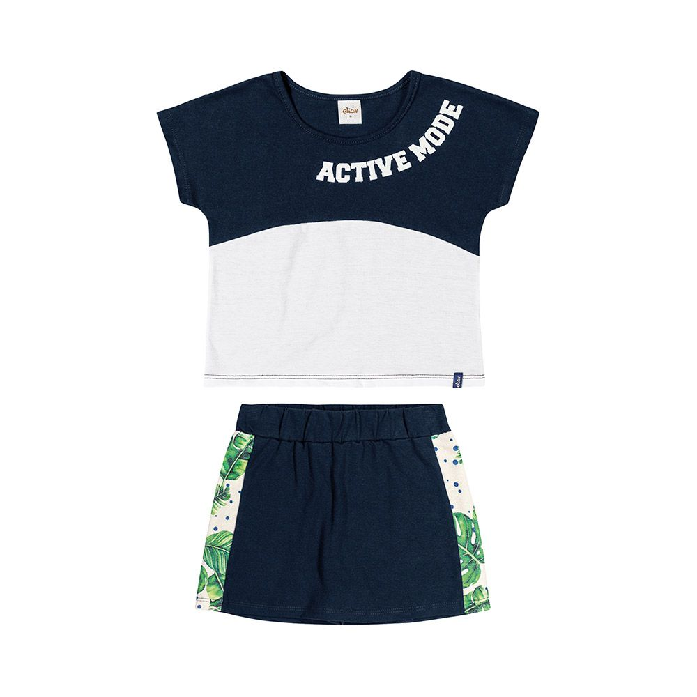 Conjunto Active Mode com shorts embutido