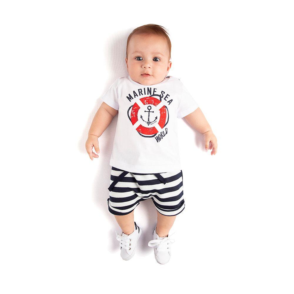 Conjunto Baby marine
